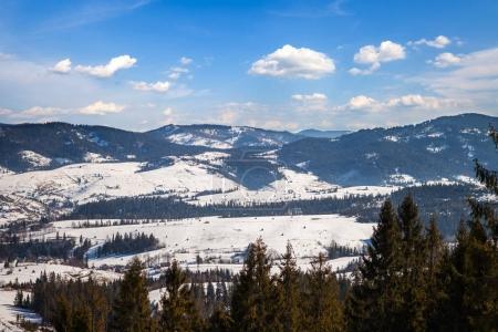 beautiful  winter mountains