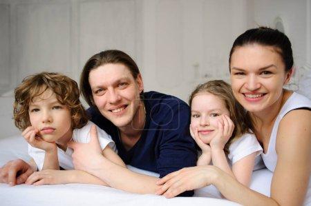 Pleasant family morning.
