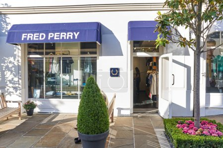 Fred Perry boutique in La