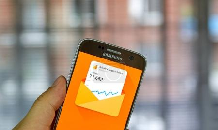 Google Analytics mobile application