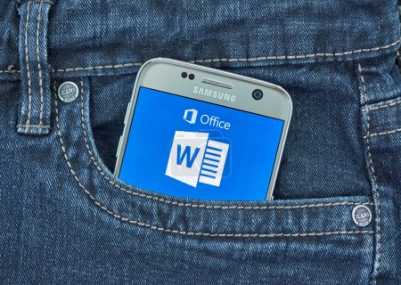 Microsoft Word android application