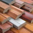Samples of wooden furniture MDF profiles, Differen...