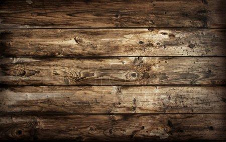 Photo pour Texture bois. Fond vieux panneaux - image libre de droit