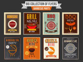 Barbecue Party flyers collection