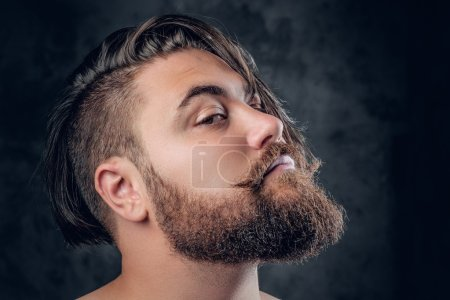 handsome bearded male