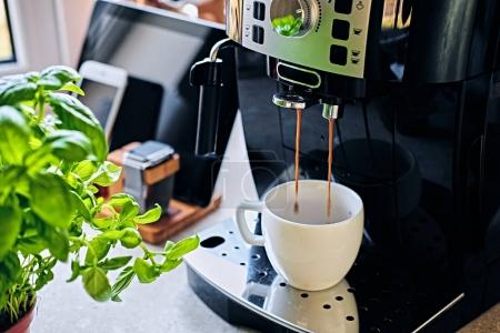 Professional coffee machine for home use