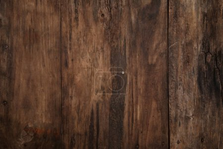 Photo for Old rustic wooden background - Royalty Free Image