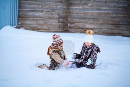 Little girls happy.