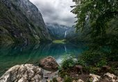 Lake Obersee and Rothbach Waterfall - The Alps - Germany