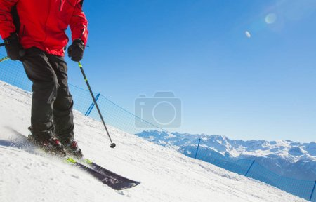 ski resort in the mountains