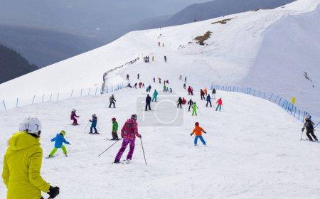 Ski resort. Rosa Khutor, Sochi, Russia.