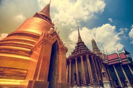 Thai Pagoda in the Royal Grand King Palace