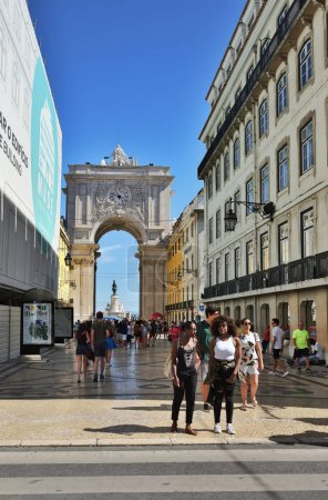 Street in Lisbon Portuga