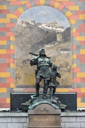 Wilhelm Tell sculpture, Switzerland