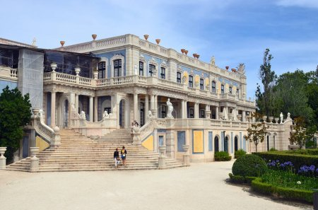 The National Palace of Queluz, Portugal