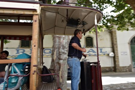 The tram driver, Sintra, Portugal