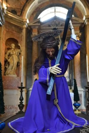 Statue of Jesus Christ in basilica, Mafra, Portugal
