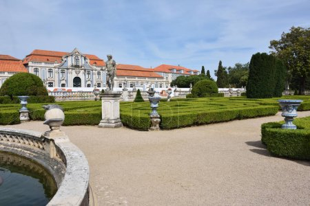 The Palace of Queluz is a Portuguese 18th-century palace located