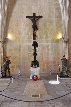 The Unknown Soldier tomb. Batalha, Portugal