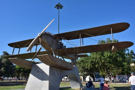 Monument to the first flight across the South Atlantic Belem Lis
