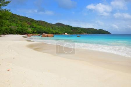 Seychelles islands, Praslin, Anse Lazio