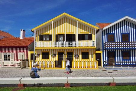 Costa Nova resort, Beira Litoral, Portugal, Europe