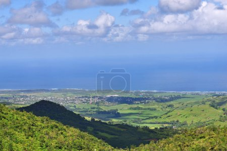 Mauritius beautiful landscape