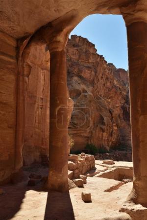 Archeological site Petra, Jordan