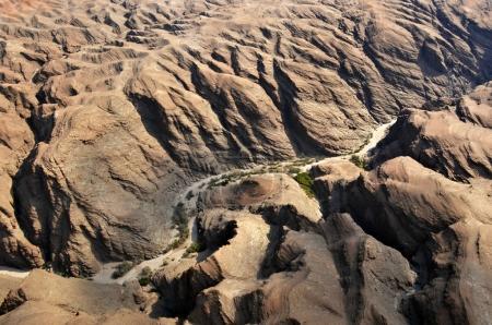 Flight over Kuiseb canyon, Namibia