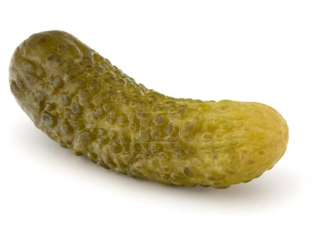 pickled or marinated  cucumber