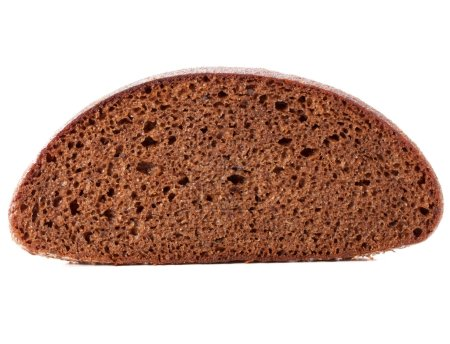 Slice of fresh rye bread