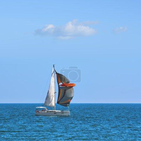 Yacht Cassiopeia in Regatta