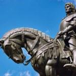 King Matthias Corvin Statue in Cluj-Napoca, Romani...