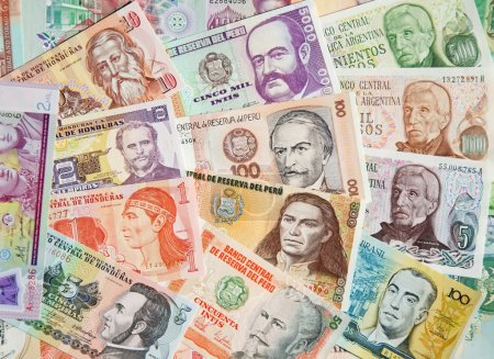 South American banknotes