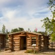 Historial outpost of Wild West Pioneers on border ...
