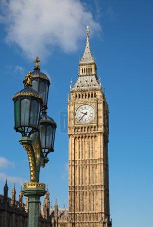 Famous Big Ben clock