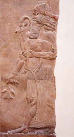 Ancient sumerian stone