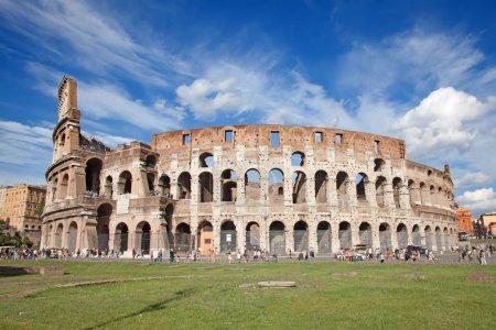 Ruinas del Coliseo en Roma