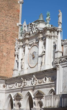 Interior of the Doge palace in Venice