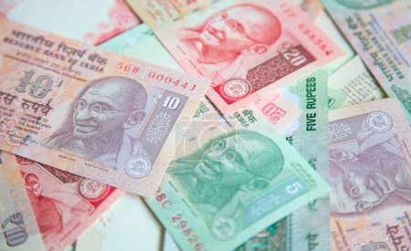Collection of Indian banknotes