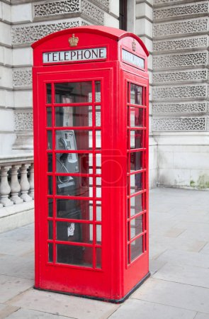 Famous telephone booth