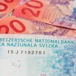 Collection of the new swiss banknotes (issued in 2...