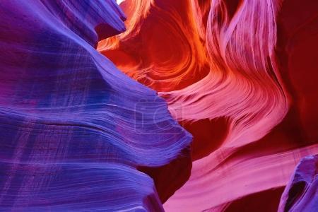 Antelope canyon in Arizona