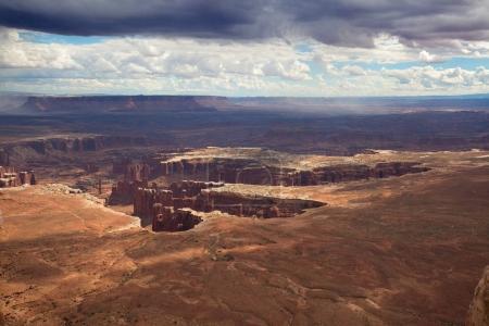 Photo pour Île du ciel du parc national de Canyonlands dans l'Utah, États-Unis - image libre de droit