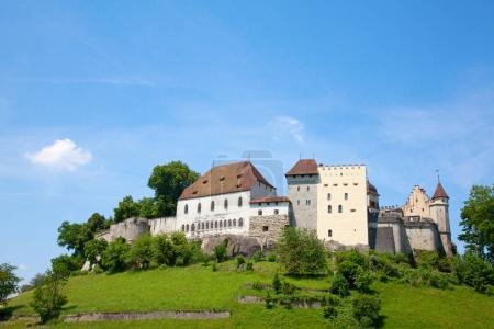 Old Lenzburg castle
