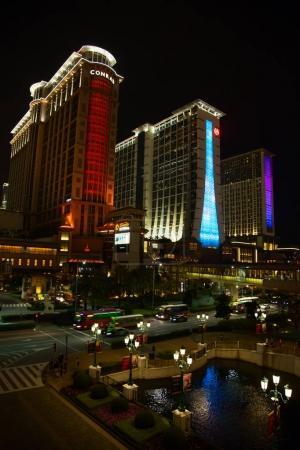 Facade of the Sands casino