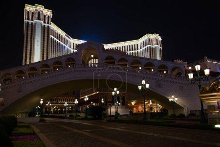 Facade of the Venetian casino