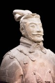 XIAN, CHINA - October 8, 2017: Famous Terracotta Army in Xian, China.
