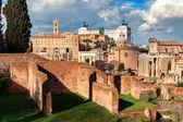 Ruins of Roman Forum.