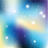 Universe with stars Matrix of glowing stars Space background